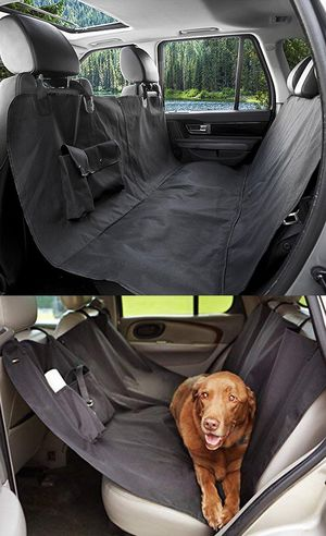 New $15 Pet Dog Car Seat Protector Cover Back Rear Mat Pad Waterproof Hammock, Black for Sale in Whittier, CA