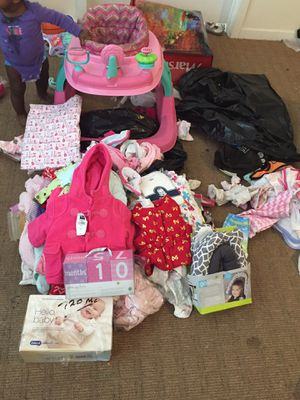 Babygirl Clothes Ect 0-3m for Sale in Minneapolis, MN