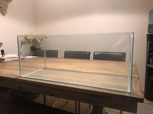 20 gal long rimless fish tank for Sale in La Costa, CA