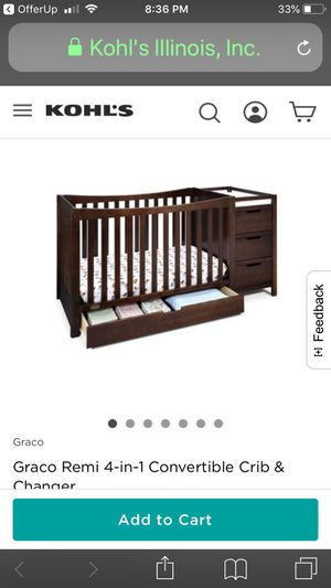 Crib & Changing Table for Sale in Las Vegas, NV