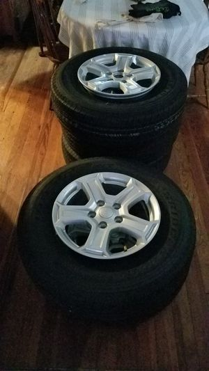 Brand New Jeep Wheels and Tires! for Sale in St. Louis, MO