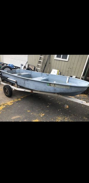 Boat and trailer for Sale in San Diego, CA