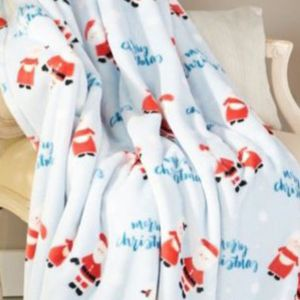 Mr. & Mrs. Clause Decorative Throw for Sale in Aumsville, OR