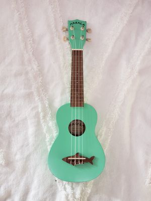 Teal Makala Ukulele, Real Ukelele, Super Stylish! for Sale in Oceanside, CA