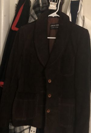 Genuine leather coat and womens pea coat for Sale in Salt Lake City, UT