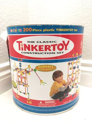 Free With Any Purchase TinkerToy Construction Set for Sale in Rancho Cucamonga, CA