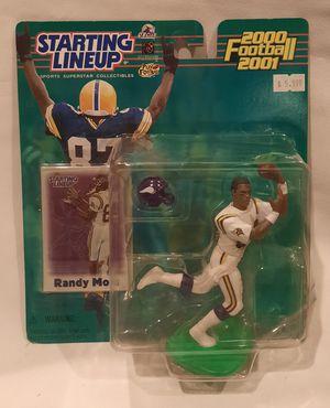 NFL Starting Lineup SLU Randy Moss Minnesota Vikings Figure 2000 2001 for Sale in San Jose, CA