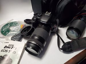 Canon EOS Rebel T2i 18MP Digital SLR Camera for Sale in Kent, WA