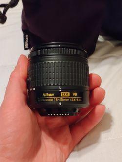 Nikon - AF-P DX VR NIKKOR 18-55mm lense kit for Sale in Aurora,  CO
