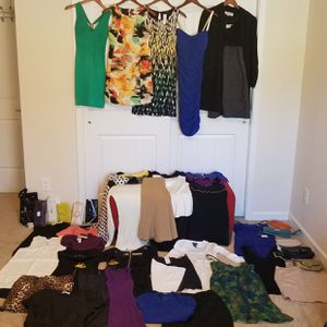45 bundle lot womens clothing for Sale in Brentwood, NC