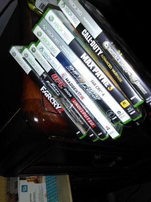 Xbox 360 with games for Sale in Hilliard, OH