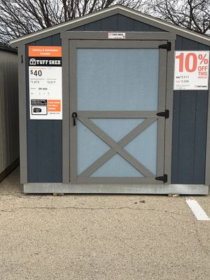 8x10 Shed for Sale in Palatine, IL