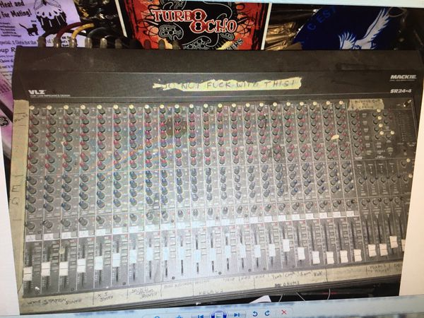 Mackie 24 channel mixer