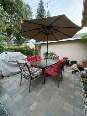 Outdoor patio furniture set for Sale in Whittier, CA