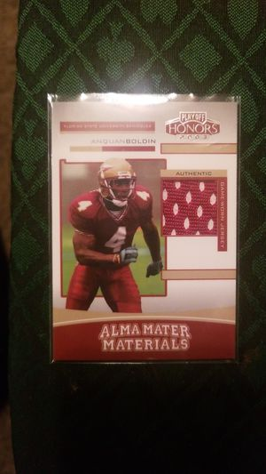 Anquan Boldin, 2003 Playoff, Alma Mater Materials, RC, #89/350 for Sale in Bozeman, MT