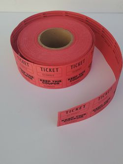 Roll Of Tickets for Sale in Bakersfield,  CA