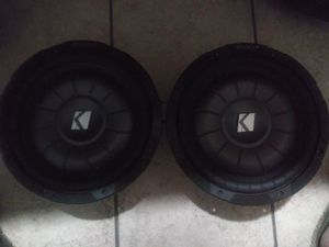 10 in Kicker Competition Subwoofer for Sale in Corpus Christi, TX