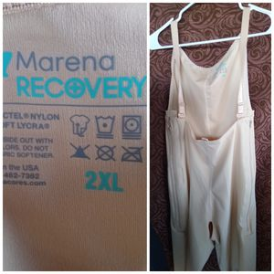 Marena recovery 2XL surgery girdle zipper on the sides beige postpartum for Sale in Phoenix, AZ