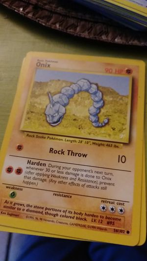 Onix pokemon for Sale in St. Louis, MO