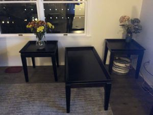 Coffee table and 2 matching end tables for Sale in Berkeley Township, NJ