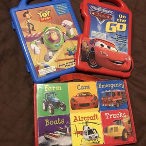 Cars and Toy Story Magnet Sets And Toddler Books for Sale in Chicago, IL