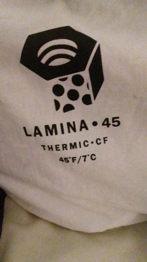 Moutain Hardware Lamina +45 sleeping bag(s)