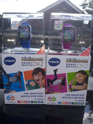 Blue & purple KIDIZOOM SMART WATCH Dx2 $50 each obo for Sale in Odem, TX
