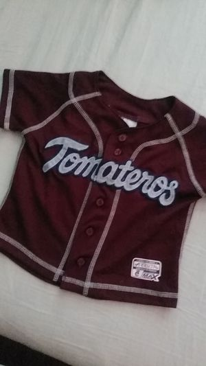 Tomateros de Culiacan Jersey size 2t for toddlers for Sale in Hacienda Heights, CA