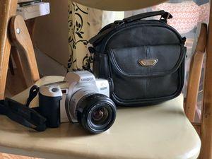Minolta Maxxum QTsi 35mm SLR Camera Kit w/ 35-80mm Lens and camera bag with bonus Canon Sure Shot 85 Film Camera for Sale in Hollywood, FL