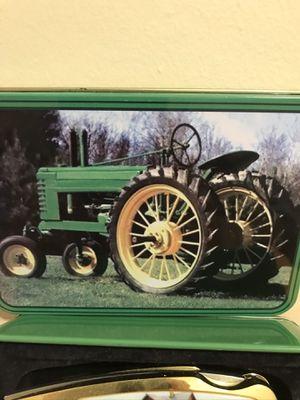 John Deere Collectible Antique Tractor Tin for Sale in Murfreesboro, TN