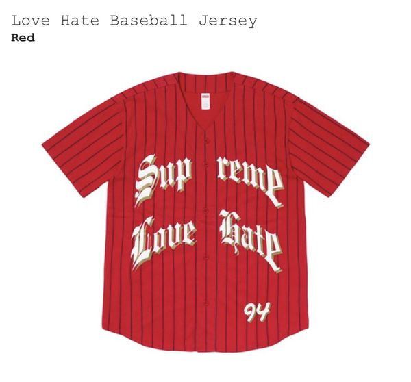 Supreme Love Hate Jersey