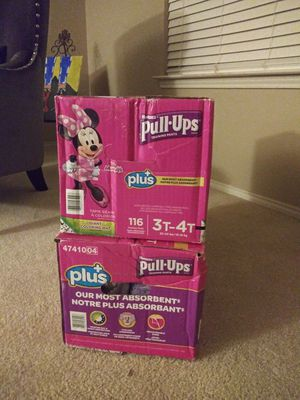 Huggies Pull Ups for Sale in DeSoto, TX