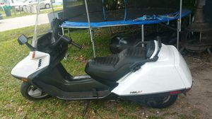 250cc honda helix scooter flames extra motor for Sale in Saint Petersburg, FL