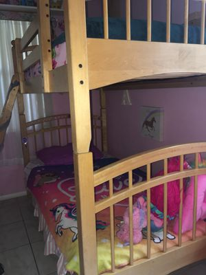Twin bunk beds without mattress for Sale in Delray Beach, FL