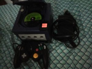 GameCube , with cors, memory card, controller and pikmin game for Sale in Lynchburg, VA