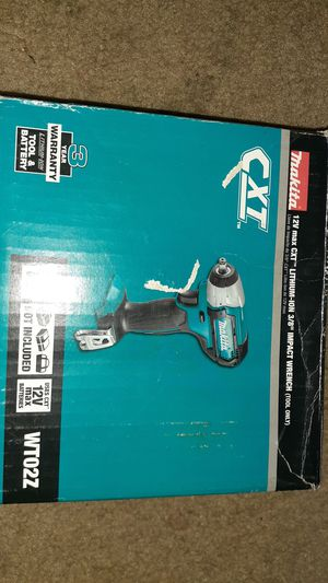 """Makita 12V Max 3/8"""" Impact Wrench. Tool Only for Sale in Baltimore, MD"""
