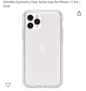 Otter box iPhone 11 Pro Symmetry clear phone case for Sale in Chula Vista, CA
