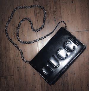 Gucci clutch in black for Sale in St. Petersburg, FL