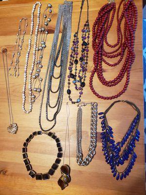 Jewelry Lot. Necklaces. Bracelets. Earrings. Rings. for Sale in Santa Ana, CA