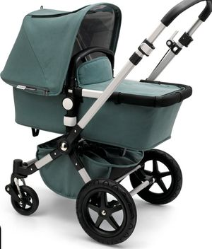 LIKE NEW Bugaboo Cameleon 3 Stroller - Limited Edition - Kite + Car Seat Adapter + Brand New Bugaboo Diaper Bag for Sale in Everett, WA