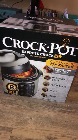 Brand New Crock Pot Express Crock xL for Sale in San Diego, CA