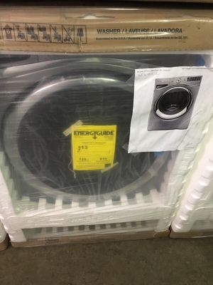 SILVER WHIRLPOOL DUET STEAM FRONTLOAD STACKABLE WASHER DRYER MATCHING SET GAS/ELECTRIC 1 YR WARRANTY BRAND NEW IN BOX for Sale in Potomac, MD