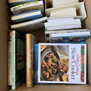 Box Of Cookbooks for Sale in Newberg, OR