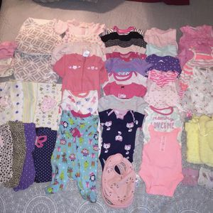 Baby Girls Clothes (Newborn-3 Months) 50 Pieces for Sale in Upland, CA