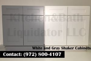 Shaker White And Grey for Sale in Plano, TX