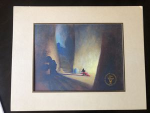 Disney Commemorative lithograph of original concept painting Fantasia 1939 for Sale in Lynwood, CA