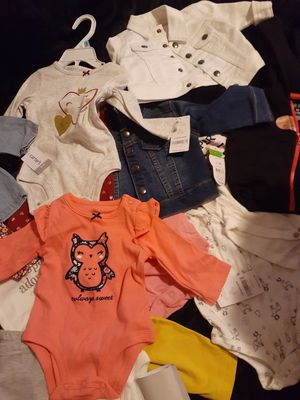 Baby girl clothes for Sale in Victorville, CA
