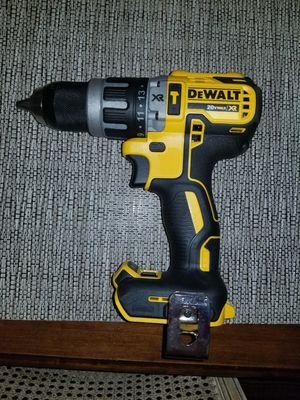 "$110 Please read entire post! Dewalt XR 1/2"" hammer drill DCD796 brushless motor for Sale in Simsbury, CT"