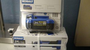 Kobalt 24 volt max brushless drywall cut- out tool. With for Sale in Hampton, VA