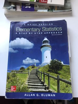 Elementary statistics Allan G. Bluman for Sale in Los Angeles, CA